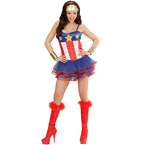 Super Hero Girl Kostüm Costume Superhelden Sexy Woman -