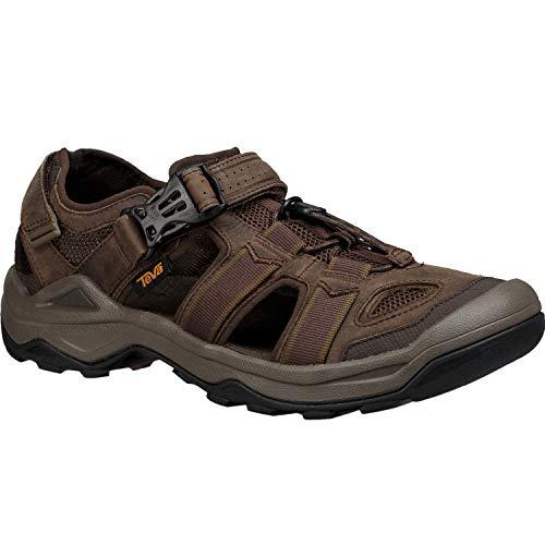 Teva-aqua-schuhe (Teva Omnium 2 Leather Watersport Shoes 40.5 EU Turkish Coffee)