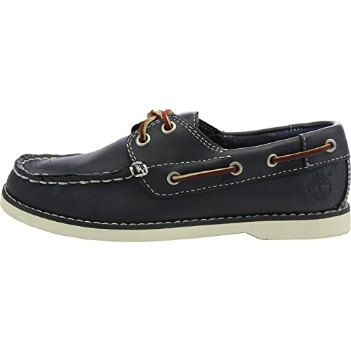 Timberland Seabury 2 I Boat Navy Youths Shoes Bleu