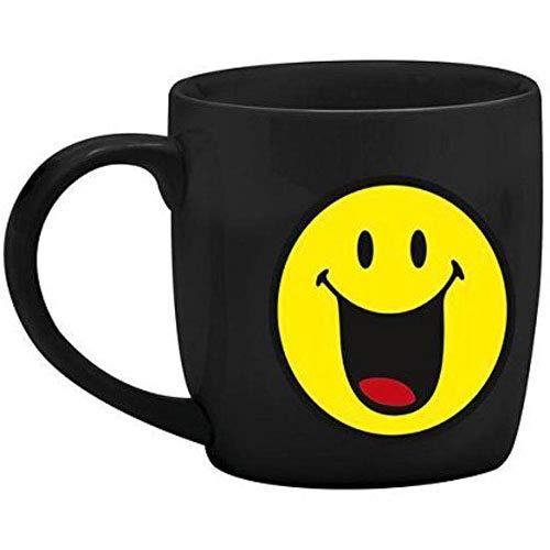 Zak designs 6727-1595 Mug Expresso Porcelaine Noir 7,5 cl