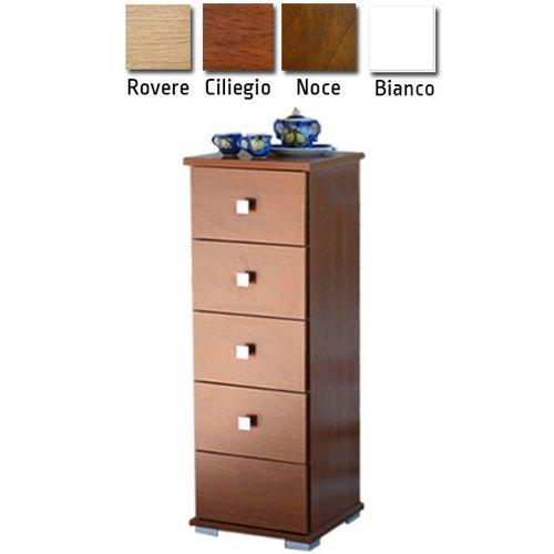 mobile-cassettiera-baby-5-cassetti-legno-31x30x91-cm-arredo-casa-frasm-610503