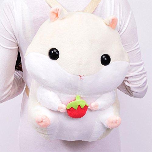 Zantec Lovely Plush Animals School Bag Gefüllte Hamster Puppe Rucksack Angefüllte Schultern (Volleyball Beach Kostüme)
