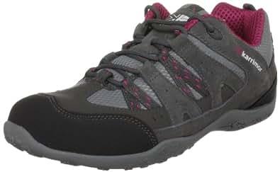 Karrimor Unisex-Adult Traveller Walking Boots, Dark Grey/Cochineal, 4 UK