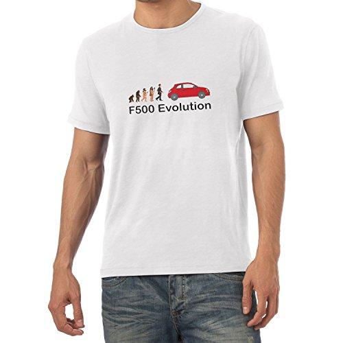 TEXLAB - F500 Evolution - Herren T-Shirt Weiß