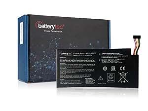 4325mAh Batterytec® Batterie pour ASUS Google Nexus 7 (2012) C11-ME370T.(NOT compatible with C11-ME370TG) [3.7V 4325mAh,12 mois de garantie]