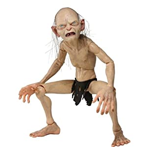 NECA - Lord of The Rings, Gollum & Smeagol: Gollum, Figura 1/4 (NEC0NC30487) 4
