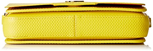 Lacoste NF1861CE, Sac Bandouliere Femmes, 13 x 5 x 20 cm EMPIRE YELLOW