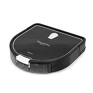 Astan Hogar Kizoomba Pro 910 Staubsaugerroboter, Ultra-kompakt, 4 in 1, 30 W, 60 Dezibel, Schwarz