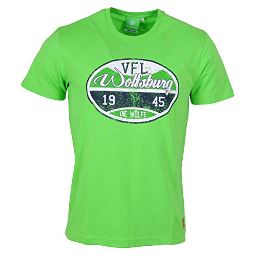 'Oficial VFL Wolfsburg-Camiseta sello 1945los