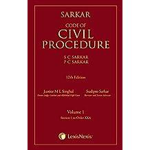 Sarkar Code of Civil Procedure (Set of 2 Volumes)
