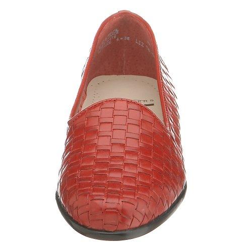 Trotters Liz, Scarpe chiuse donna Red