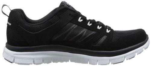 Skechers Flex Advantage, Chaussures de sports en salle homme Noir (Bkw)
