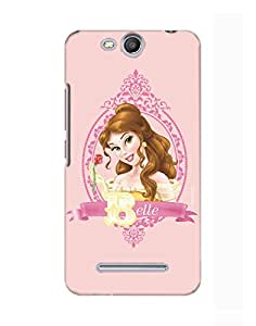 Pick Pattern Back Cover for Micromax Canvas Juice 3 Q392