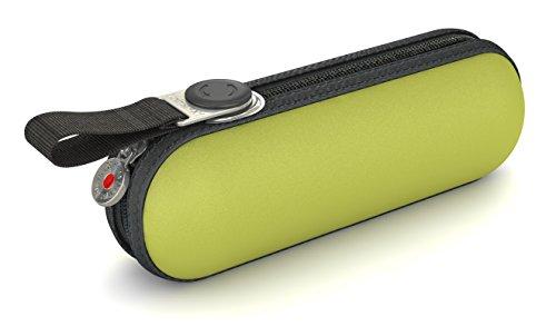 Knirps Taschenschirm X1 Uni - Der kleinste Regenschirm von Knirps - Leicht und kompakt -Windproof - Lemon