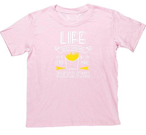 Hippowarehouse Mädchen T-Shirt Gr. 12-13 Jahre, Rosa - Pink (Dads Hot Sauce)