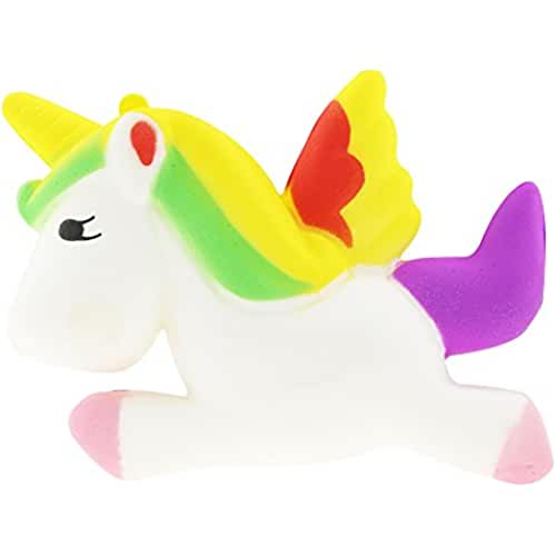 unicornios kawaii Squishies Lindo Grande Lenta Creciente Animales Scented Squeeze Juguetes / Squishy Kawaii Jumbo Slow Rising Unicornio Stress Reliever Toy