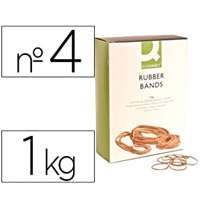 Q-Connect KF14681 40 x 2mm Elastic Bands