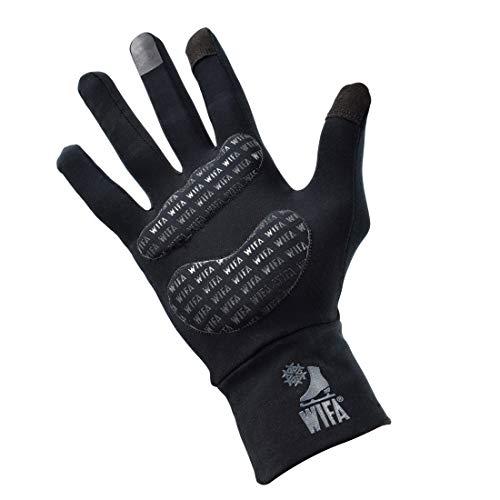 WIFA Eislauf und Sport Handschuhe gepolstert mit Gel Polsterung Touchscreen rutschfest atmungsaktiv für Kinder und Erwachsene (Größe 2)