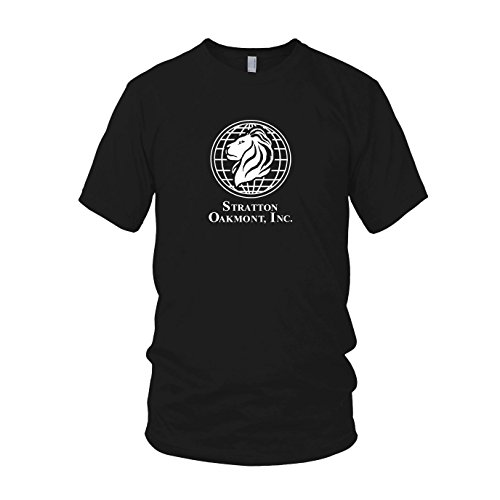 Kostüme Wall Of Wolf Street (Stratton Oakmont Inc. - Herren T-Shirt, Größe: XXL, Farbe:)