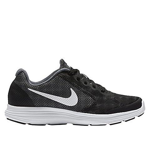 Nike NIKE REVOLUTION 3 (GS) 819413 001 Jungen Schnürhalbschuh sportlicher Boden, Größe 39.0
