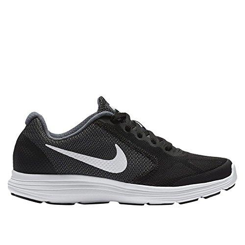 Kid/'s Nike Revolution 3 PSV Running Shoes NIB! Grey//Black//White