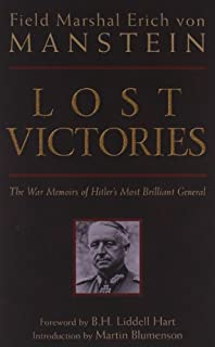Lost Victories: War Memoirs of Hitler's Most Brilliant General (Zenith Military Classics) (0760320543) | Amazon Products