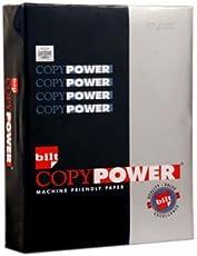 BILT Copy Power Paper - A4, 75 GSM, 500 Sheets, White, 1 Ream