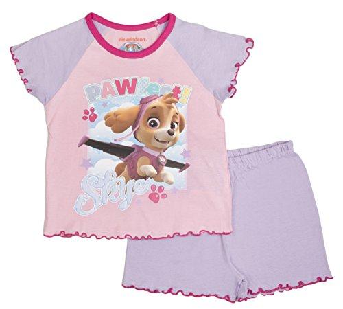Paw Patrol Mädchen Schlafanzug Gr. Medium, Pawfect Skye