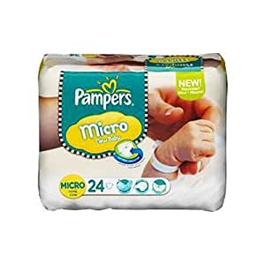 Pampers - P04275099 - Couches New baby T0 Micro 1 a 2,5 kg - 24 couches