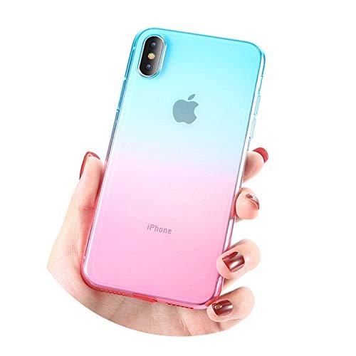 weilinchn Schutzhülle für iPhone 6, 6s, 7, 8 Plus, X Xr XS Max Ultra Dünn Weiche TPU Back Cases für iPhone 5s 5 SE Cover Conque (Iphone 6 Plus Case Louis Vuitton)