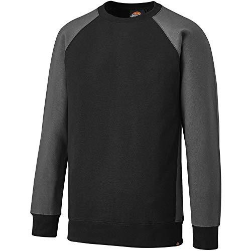 Dickies Hoodie / Pullover 2 Tone Sweatshirt Black/Grey-S (Hoodies Dickies-pull-over)