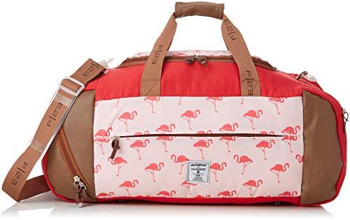 Friedrich|23 Weekender, F23, Flamingo, Polyester, beige/Koralle Reisetasche, 56 cm, 44.0 Liter, Beige/Koralle