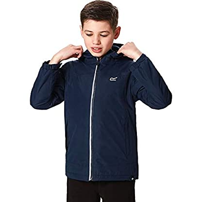 Regatta Children's Hurdle Ii Waterproof Insulated Hooded Jacket 8