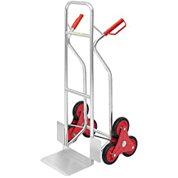 Aluminium-Sackkarre Treppensteiger, Tragkraft 150 kg