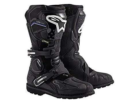 Motorcycle Alpinestars Adventure Boots Toucan GTX Black 12 UK Seller