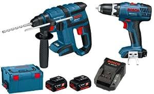 Bosch 0615990G14 Perforateur burineur sans fil et perceuse-visseuse