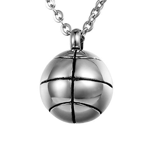 Valyria Memorial Halskette–Ball Verbrennung Asche Urne Anhänger–inklusive Trichter