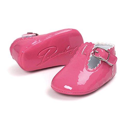Baby Schuhe Freizeitschuhe Hei脽es FEITONG Prinzessin Rosa Sohle Soft Leder qAwv7BdX