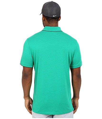 Nike Ele 3.0Short–Pantaloncini Línea Michael Jordan per Uomo Verde lucido/Antracite