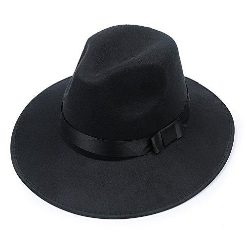 elenker-bowler-floppy-cloche-bowknot-felt-fedora-style-hat-black
