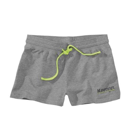 Kempa Core Sweat Shorts Damen - Damen Handball-Trainingshose kurz grau melange
