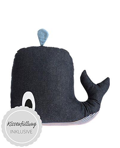 ferm LIVING Kissen Whale