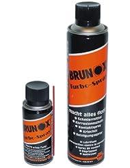 Brunox Fahrrad Pflegemittel Turbo-Spray 400 ml Spray Kette Öl Reiniger Konservierung, FA 40TS