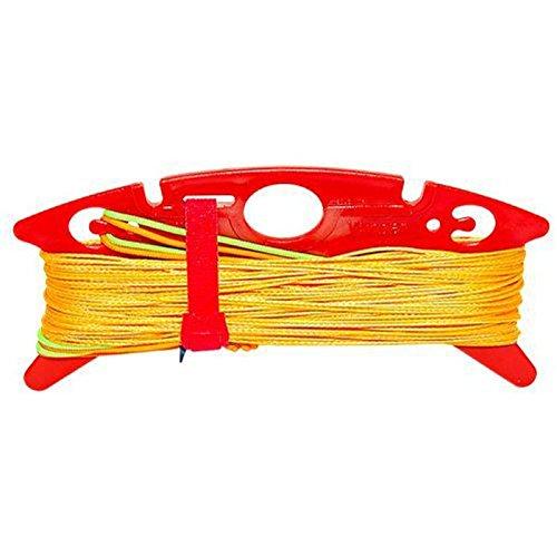elliot 1012491 Dyneema-Winderset, Powerline, Yellow 200/100 daN, 4 x 25 m -