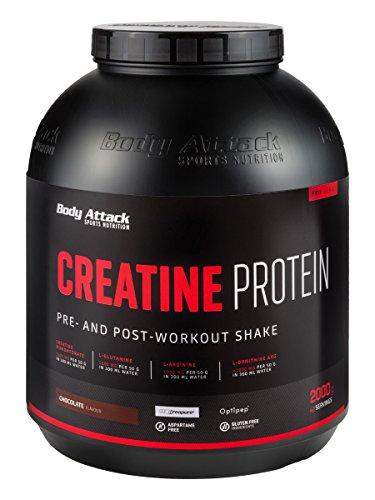 Body Attack Creatine Protein, Schokolade (1 x 2 kg)
