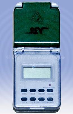 Digitale Feuchtraum-Zeitschaltuhr (ALB19) von REV Ritter - Lampenhans.de