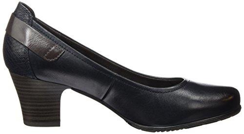 Jana 22404, Scarpe con Tacco Donna Blu (Navy 805)