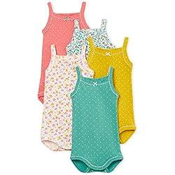 Petit Bateau Brity Body, 00, 68 (Tamaño del Fabricante:6M) (Pack de 5 para Bebés