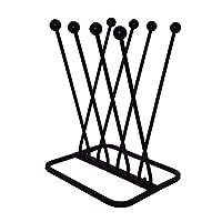 NEEZ Wellington Boot Rack Stand Holder Organizer, Metal Shoe Wellies Storage Solution - Ideal for Indoor and outdoor - Garden Products