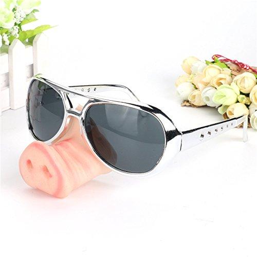 Nase Brille tragen Selbst-Timer Spiel Goggles Stützen Halloween Maske , black (Halloween Augapfel-fotos)